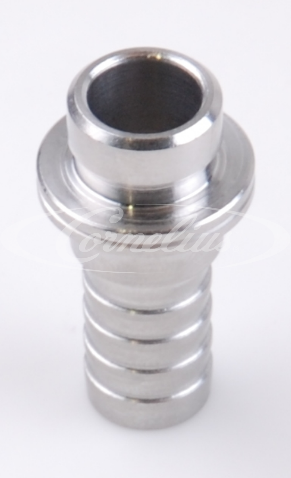 Nipple SS, straight with nut G5/8'',10mm