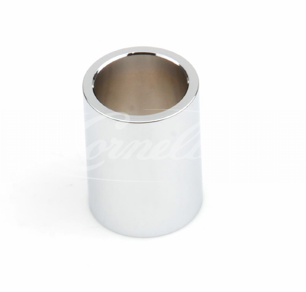 Distance sleeve, 22 mm, chrome