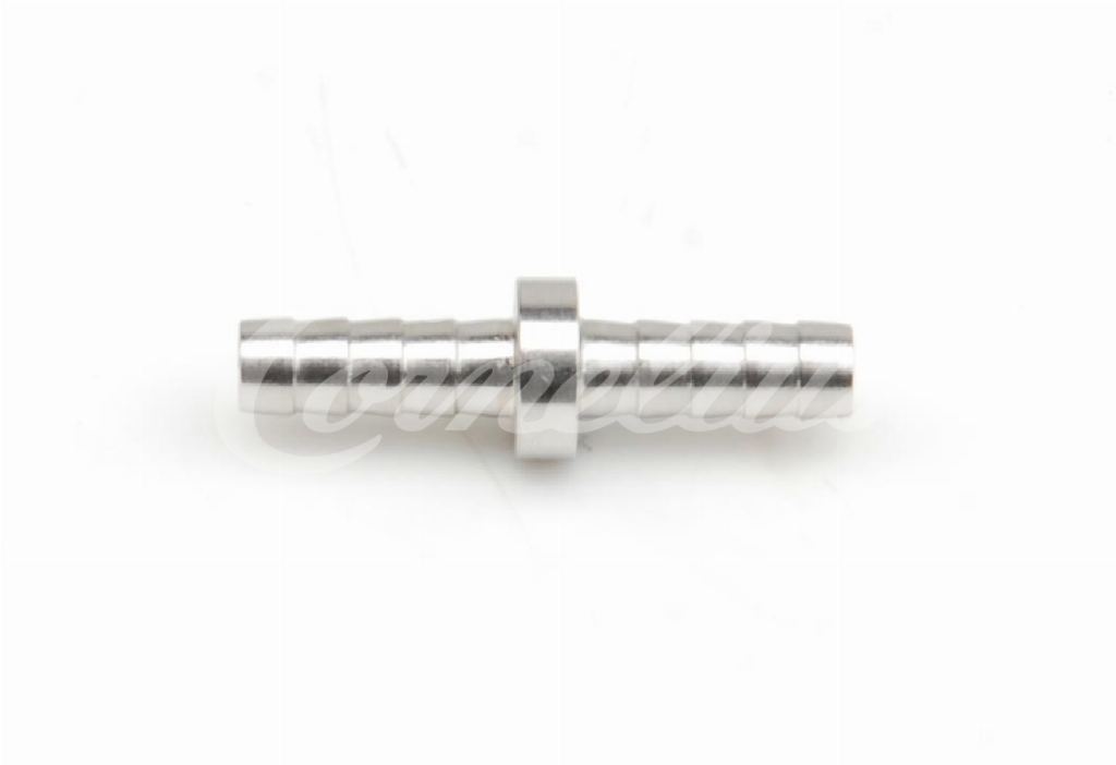 Barb fitting, SS, 6mm