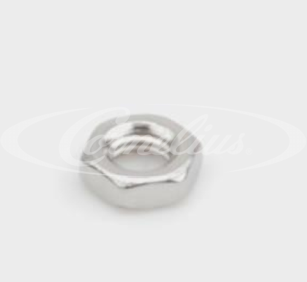 Hexagon nut, 10-32NF, stainless steel