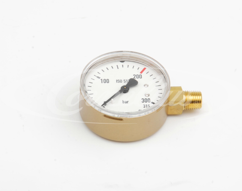 Gauge, 0-315 bar, 1/4''NPT, D=63 mm