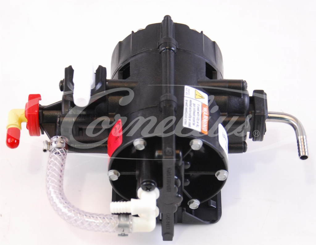 Beverage pump 3/8'' in - 1/4'' out & gas