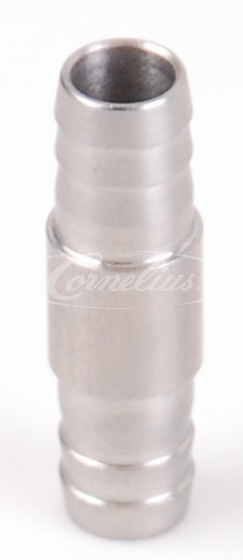 Barb fitting, SS, 10mm