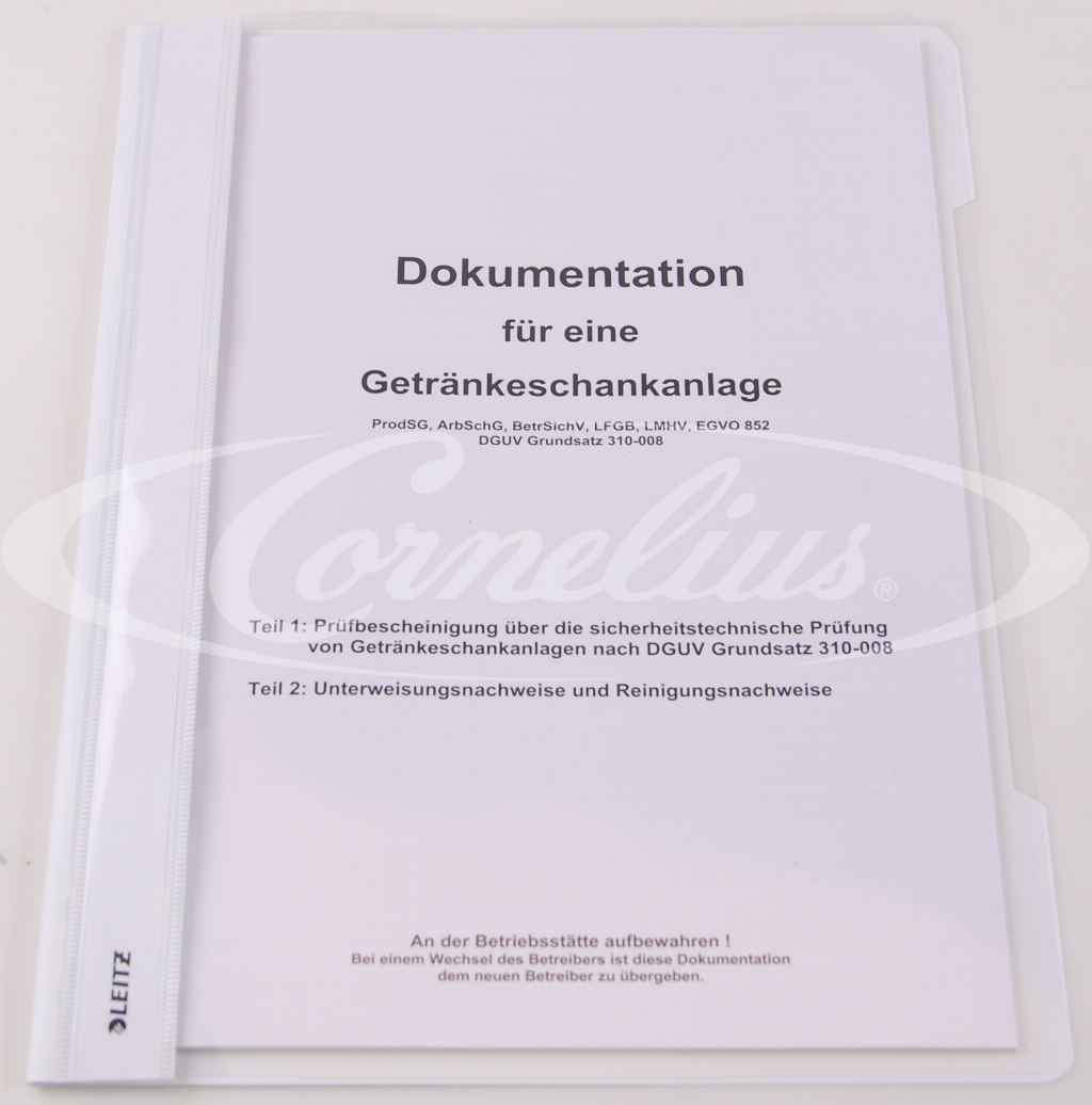 Dispensing equipment manual