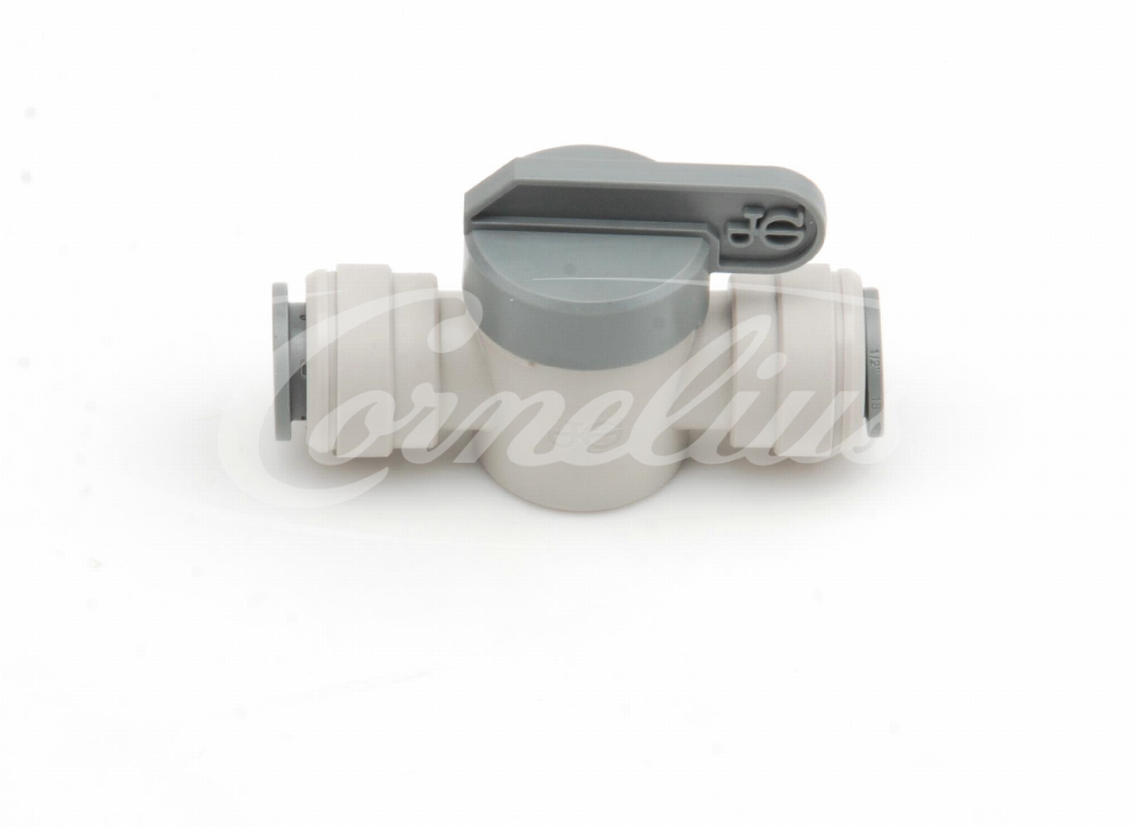 Pushfit shut off valve, OD 3/8''
