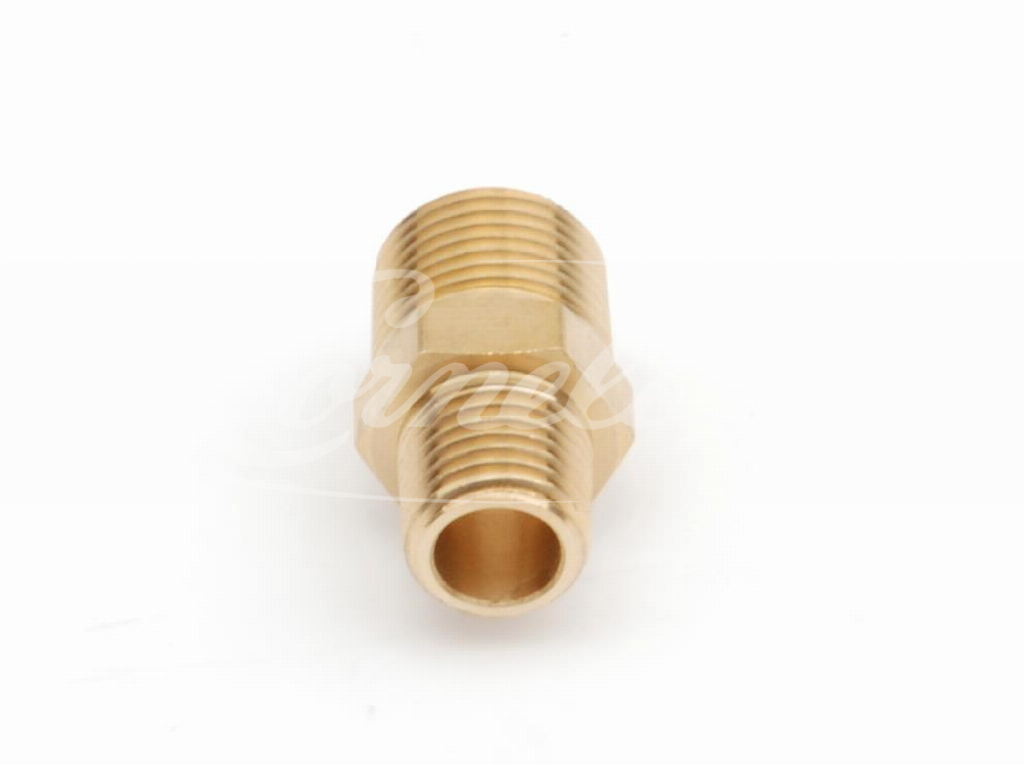 Adapter, Brass, 3/8''NPT, 1/4''NPT