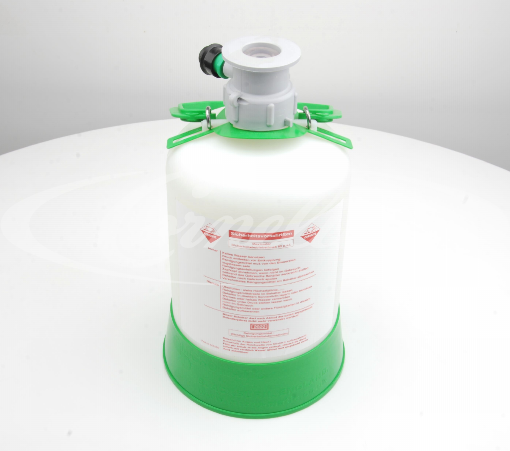 Cleaning tank, 5 liter, ABS, A-type