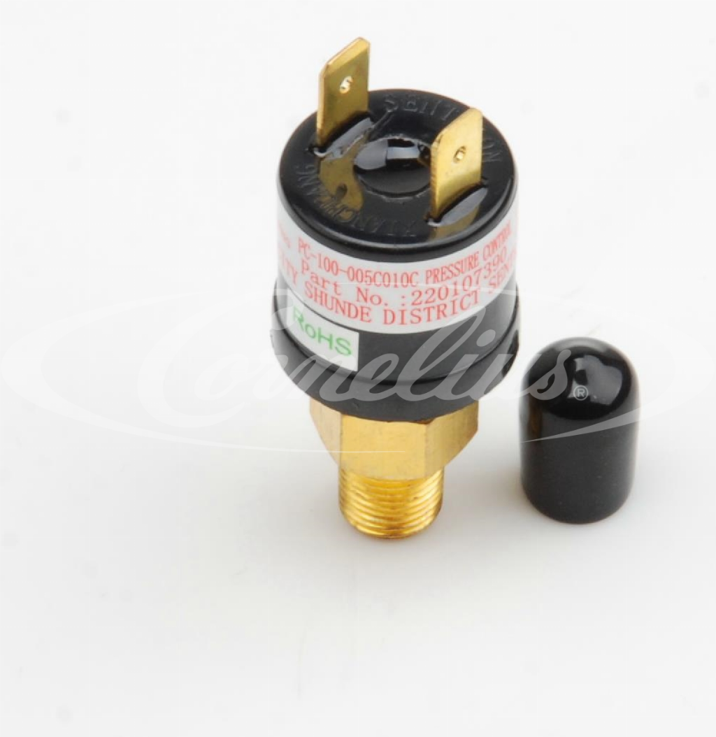 Pressure switch, water inlet, 5/10 psi