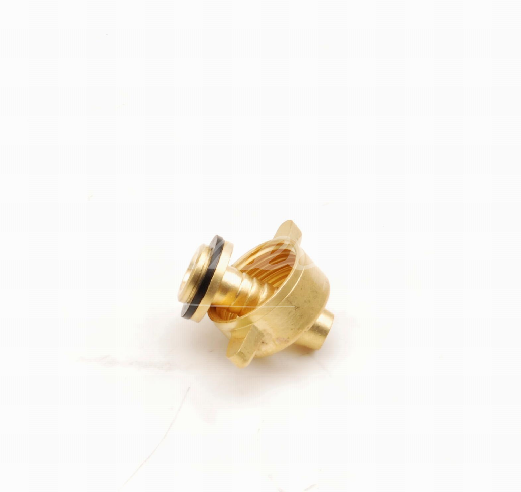 Adapter+barb fitting, brass, G3/4'', 10m