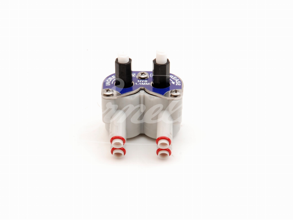 UFB1 flow control, grey, for HY 1.1 pist