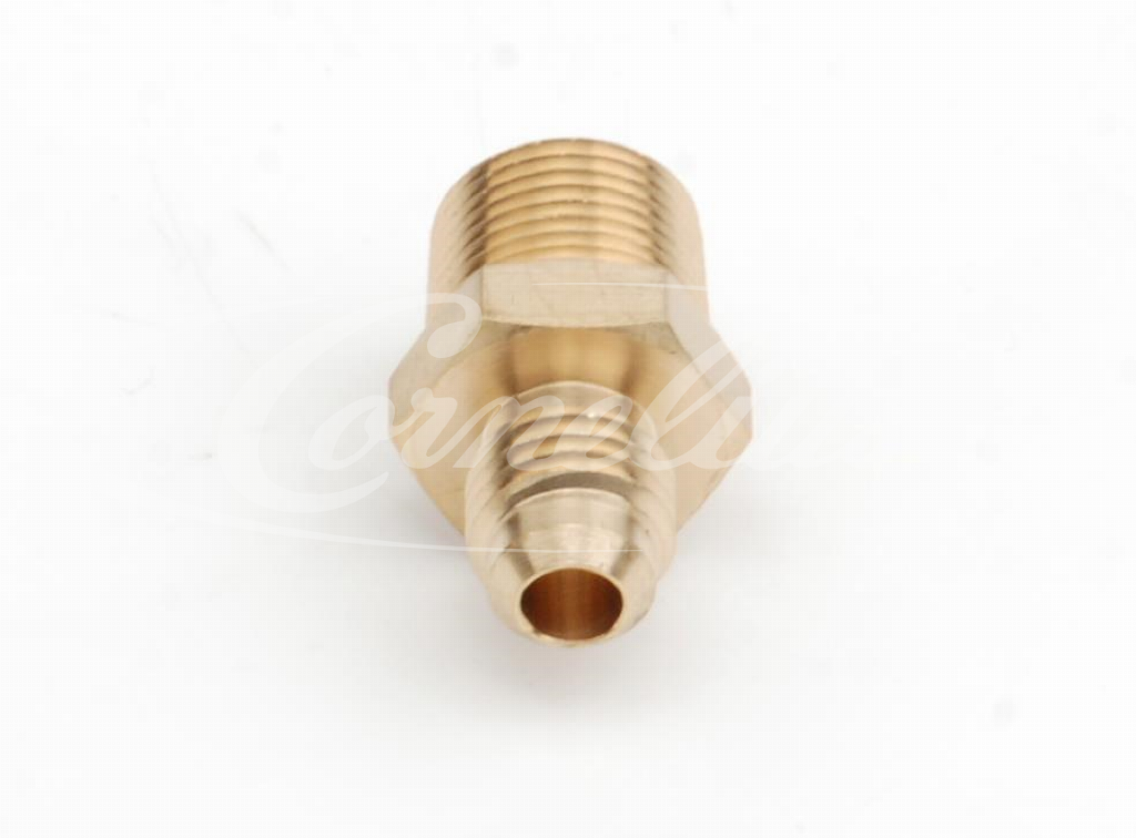 Adapter, Brass, 1/2''-16BSF, 3/8''NPT